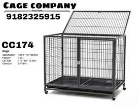 Imported premium quality dog cages at Cage company.
