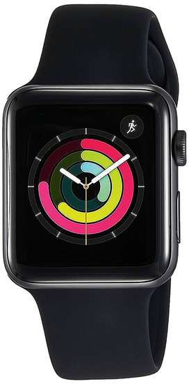 APPLE SPORT WATCH I WATCH SERIES 3 38MM  WITH BUNDLE DEAL SAFETY GLASS