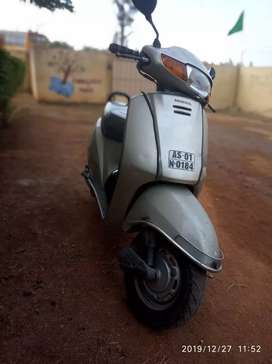 Scooty is well maintained and in perfect running condition
