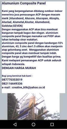 Jasa pemasangan ACP