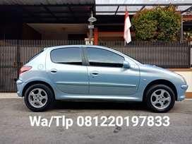 Istimewa! Peugeot 206 XR 1.4 MT 2002/2001 | 2003 | Atoz | Karimun