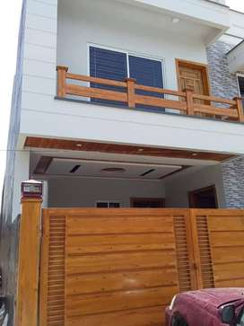 Beautiful 120 yards new double story house block-5,saadi town