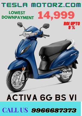Honda Activa 6G in lowest downpayment