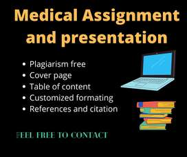 I will make Professional  Assignment + Presentation