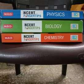 Mtg NEET NCERT Fingertips ( All Subjects ) Physics Chemistry Biology