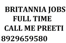 Vacency Open For Store Incharge , And Helper And Store Keeper,BRITANNI