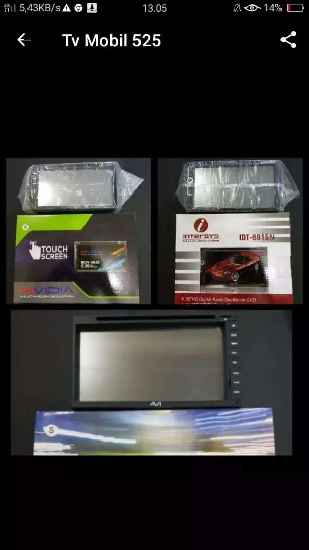 Tv Mobil Double Din Mirror Link Dvd Bisa Di Kreditkan 0