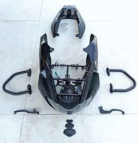 Pulsar 220 Spares (Front Fairing - Doom, Frame, Headlamp, Tail Cowl)