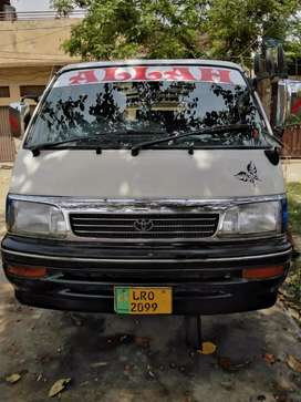 Toyota Hiace super custum model 1993/2002 Registration Urgent sale