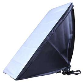 TaffSTUDIO Payung Softbox Reflektor 50x70cm E27 Single Lamp Socket