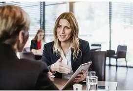 Salesperson-work from phone