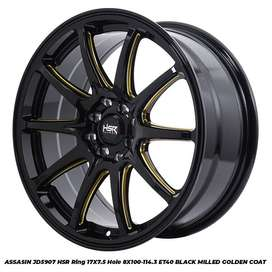 velg racing HSR ring 17 bisa jazz brio swift dll