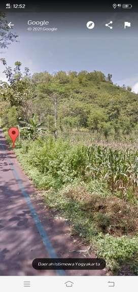 Tanah akses jalan aspal