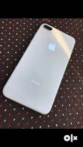Iphone 8 plus with box and charger condition is good