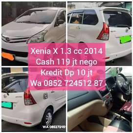 Kredit Dp 10 jt Xenia X 1.3 cc th 2014 cash nego saj