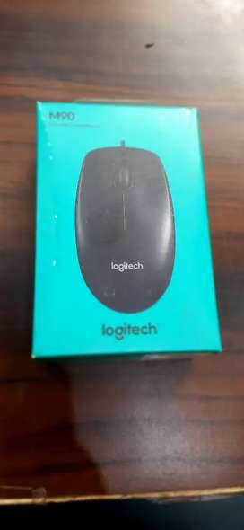 Logitech Mouse M90 Packed