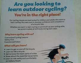 CYCLING CLASSES FOR KIDS ADULTS LEARN IN VERY EASY WAY