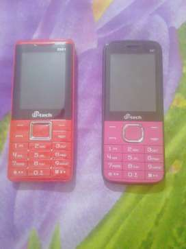 Two pcs M tech Feature Phone