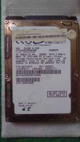 Harddisk Laptop Hitachi 320GB