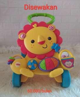 Mainan anak baby walker  push walker merk fisherprice