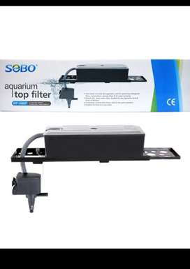 AQUARIUM TOP FILTER AND ACCECORIES WITH FREE DELIVERY