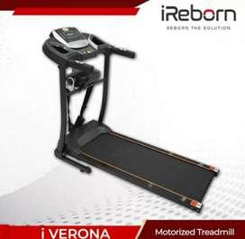 Elektrik treadmil 2Fungsi # solo fitness center # Verona fit class
