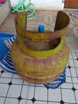 Tabung gas 3kg mulus plus isi