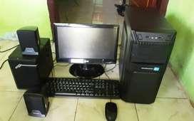 Komputer 1 Set Full Core i3 | 4GB | 320GB