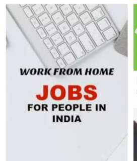 Work from home base typing work