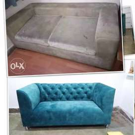 All type sofa repair and new manufacturers