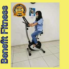 Sepeda statis magnetic TL8208 || Treadmill murah C887