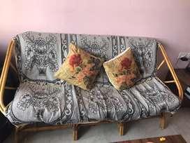 Canewood sofa 5 seater