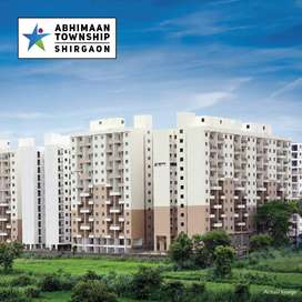 Ready to move 1 bhk flat at 23.91 Lakh(all incl) in Shirgaon,TalegaonP