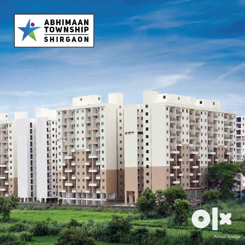Ready to move 1 bhk flat at 23.91 Lakh(all incl) in Shirgaon,TalegaonP 0