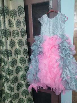 Pink Gown upto 5yrs