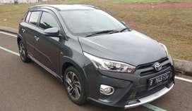 Toyota Yaris Heykers Sportivo 2017 Mulus Abu tua Metalik