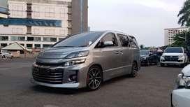 Toyota Vellfire 2.4 GS (G-Sport) 2013, Langsung BBN (Jakarta)