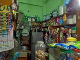 Furnished grocery shop with all products_refrigerator_popular location