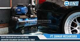 PT DNS hidrolik cuci mobil lengkap jual kompresor udara 2 pk baru mura