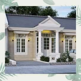 Rumah mewah clasic dengan skema SYARIAH