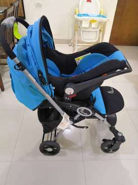 R for Rabbit Travel System - Baby Stroller with pram & infant car seat