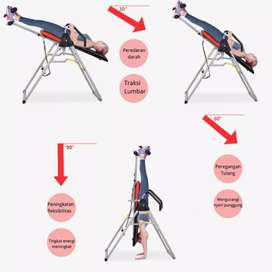 Alat inversion Table Peninggi Badan