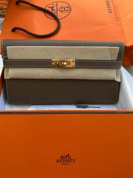 Hermes kellywallet stamp D GHW new jual bu