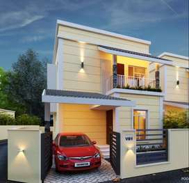 SPACIOUS 3BED VILLA | 44.90 LAKHS ONWARD