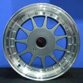 jual velg type IKIMASU  HSR Ring.15 Lebar.7-8 PCD.4X100-4X114,3 ET