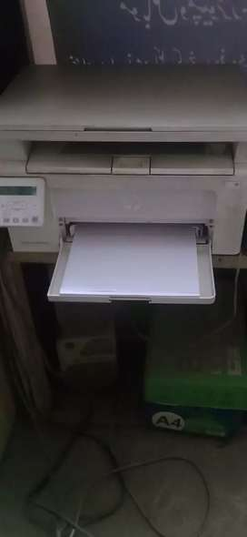 Printer with scanner