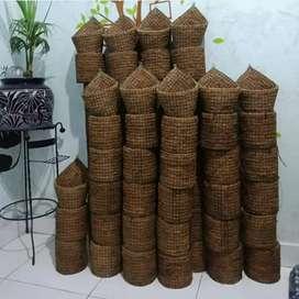 Pot tanaman dari coco fiber
