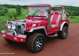 Angry bird modified Jeep