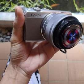 Canon m100 mulusss garansi panjanggg