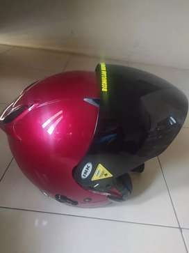 Ink helm metro red kondisi 90%